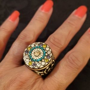 Vintage Statement Ring - Size 7